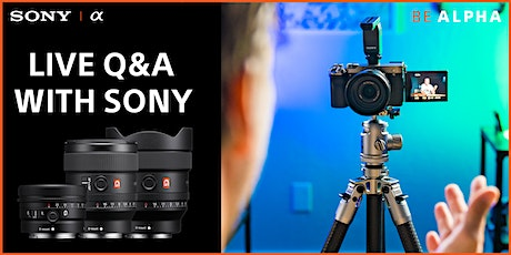 Sony Q & A - Live Online with Samy's Camera tickets