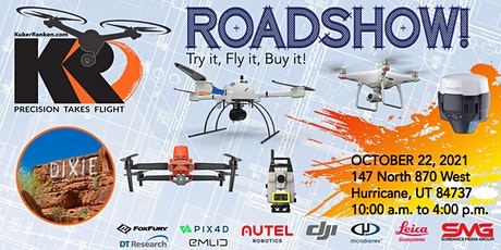 Kuker-Ranken Drone Roadshow - St. George, UT - Try it, Fly it, Buy it! tickets