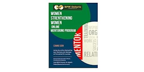 BPWO Women Strengthening Women Mentoring Information Session tickets
