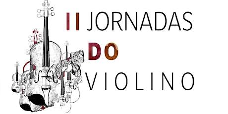 Recital Duo Lawson & Lawson - II Jornadas do Violino bilhetes