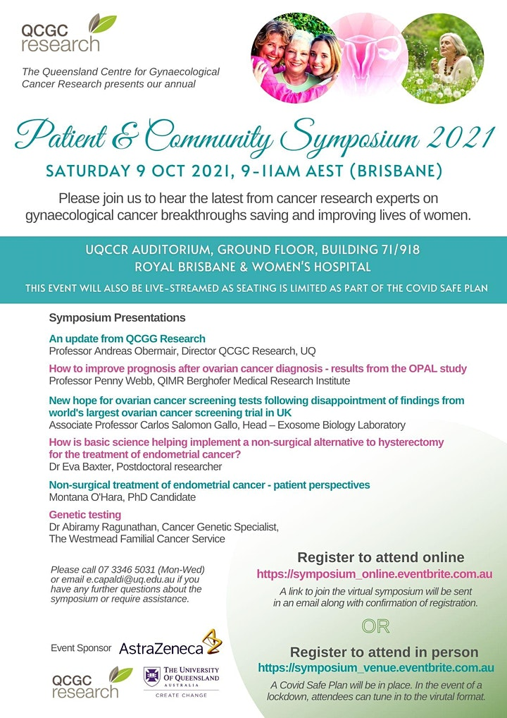 2021 Patient and Community Symposium image