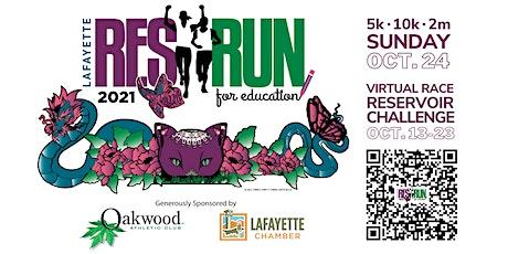 10k, 5k, 2 mile fun run/walk + virtual race Lafayette Reservoir Challenge tickets