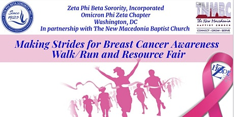 Making Strides for Breast Cancer Awareness Walk/Run and Resource Fair tickets