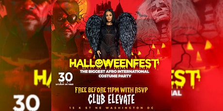 HALLOWEEN'FEST : THE BIGGEST AFRO INTERNATIONAL COSTUME PARTY IN THE DMV tickets