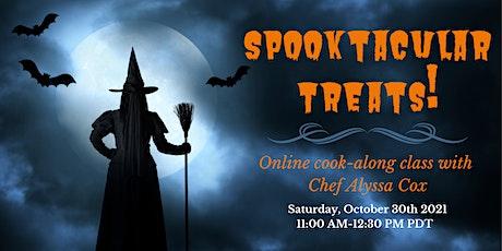 Spooktacular Treats Virtual Cook-Along Class tickets