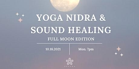 Yoga  Nidra & Sound Healing - Full Moon Edition tickets