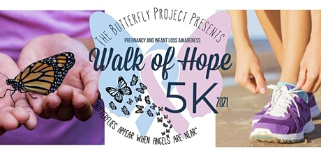 The Butterfly Project Walk of Hope Virtual 5k tickets