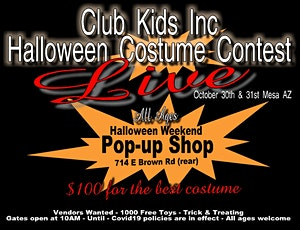 Halloween Community Costume Contest (all ages) Two Days tickets