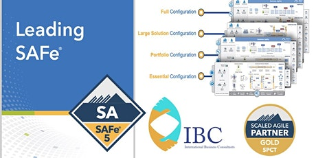 Leading SAFe 5.1 with SA Certification  - Remote class Tickets