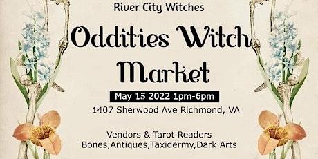 Oddities Witch Market tickets