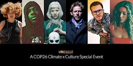UMA Ent: COP26 Climate x Culture Conference (Aurora, Groove Armada + more) tickets