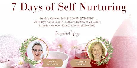 7 Days of Self  Nurturing tickets