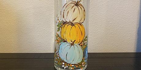 Stacked Pumpkin Vase Paint Night @ Piper tickets