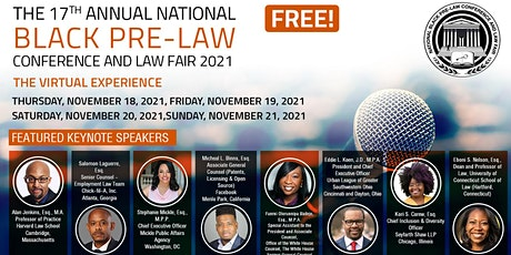 The 17th National Black Pre-Law Conference (Virtual) Sponsored by LSAC billets