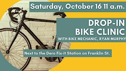 Drop-in Bike Clinic tickets