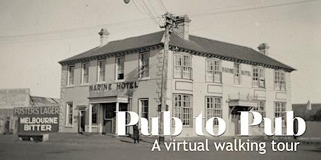 Brighton Pub to Pub virtual walking tour tickets