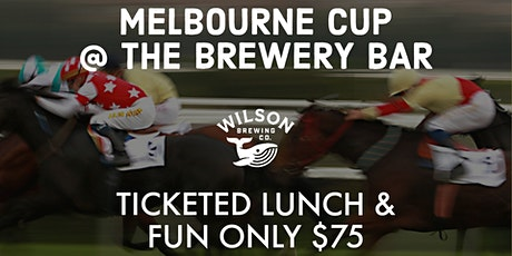 Melbourne Cup Long Table Lunch at Wilson Brewery Bar tickets