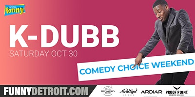 K Dubb | Sat 10/30 | 7:00pm