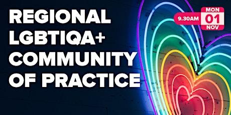 Regional LGBTQIA+ Community of Practice tickets