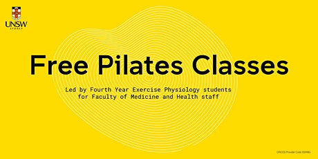 Free Pilates Classes by Exercise Physiology Students tickets