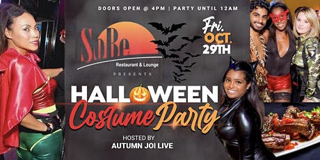 Halloween Costume Party hosted by AutumnJoi Live tickets