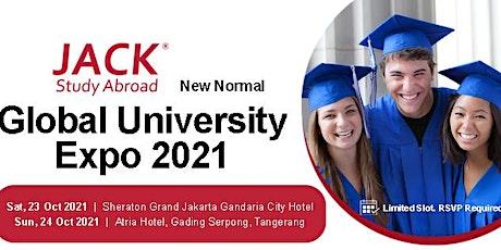 Global University Expo 2021 Day 2 - Atria Hotel Tangerang tickets