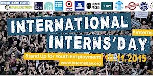 International Interns' Day 2015 (Brussels)