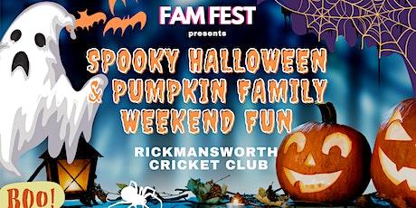 Spooky Halloween & Pumpkin Patch Family Weekend -  Rickmansworth tickets