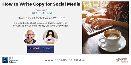 How to write copy for social media tickets