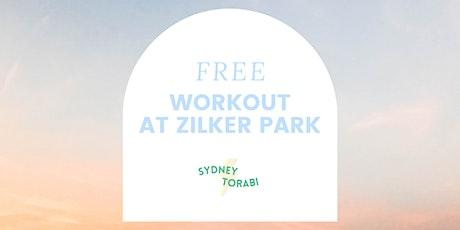 FREE WORKOUT AT ZILKER PARK tickets