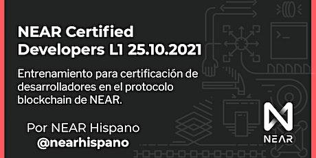 NEAR Certified Developer Bootcamp por NEAR Hispano - Octubre 2021 tickets