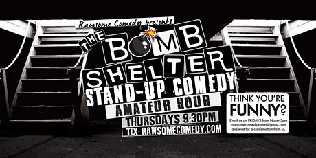 The Bomb Shelter Amateur Hour | Live Stand up Comedy tickets