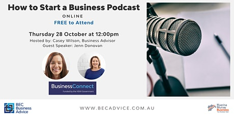 How To Start A Business Podcast tickets