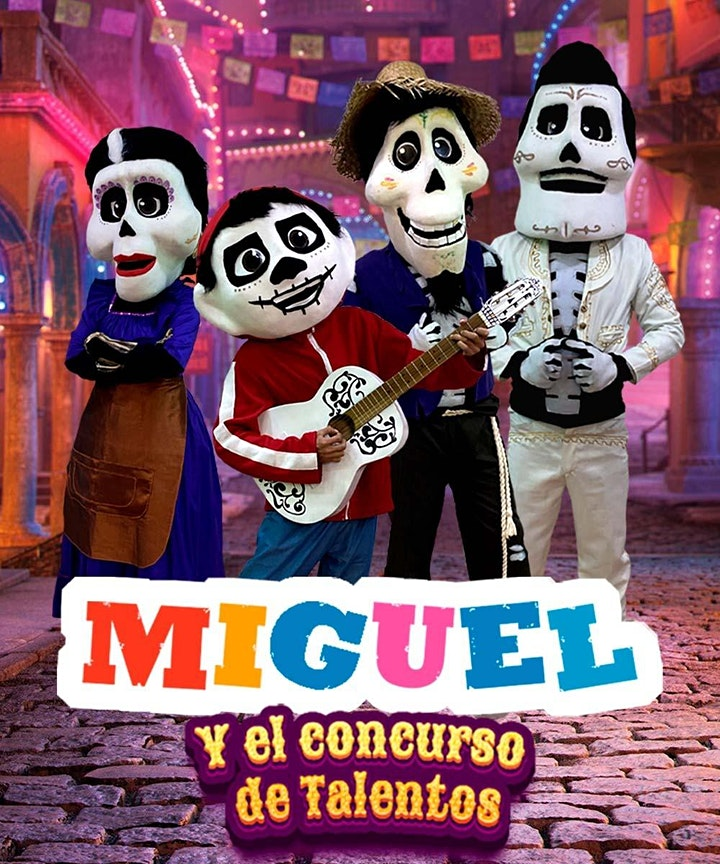 Imagen de Miguel y el concurso de talentos