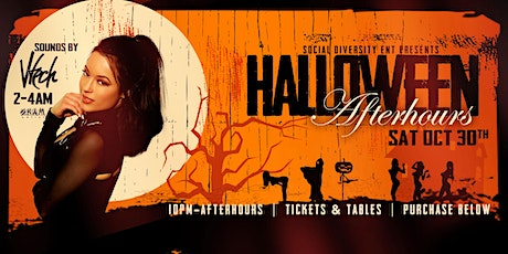 HALLOWEEN AFTER-HOURS @ GOLD CLUB SF tickets