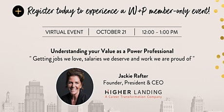 Understanding Your Value as a Power Professional - Public Invitation tickets