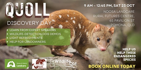 Quoll Discovery Day at Pomona tickets