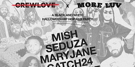 CrewLove & MoreLuv : A Black & White Halloween R&B Party tickets