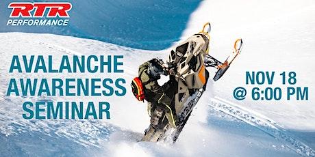 Avalanche Awareness Seminar tickets