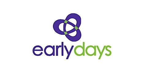 Early Days - Understanding Behaviour | 3 Pt. Workshop -  9,10 & 16 Nov 2021 tickets