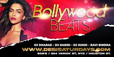 BOLLYWOOD BEATS : Nov 13th - NYC's WEEKLY SATURDAY NIGHT DESIPARTY @ SOB'S tickets