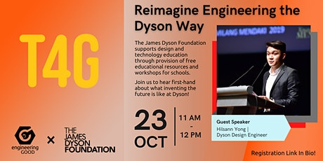 T4G2021 - Dyson: Reimagine Engineering the Dyson Way tickets