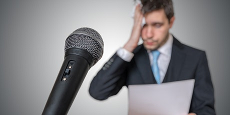 Conquer Your Fear of Public Speaking- Burlington- Virtual Free Trial Class tickets