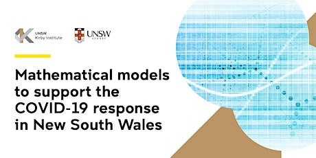 Mathematical models to support the COVID-19 response in New South Wales tickets