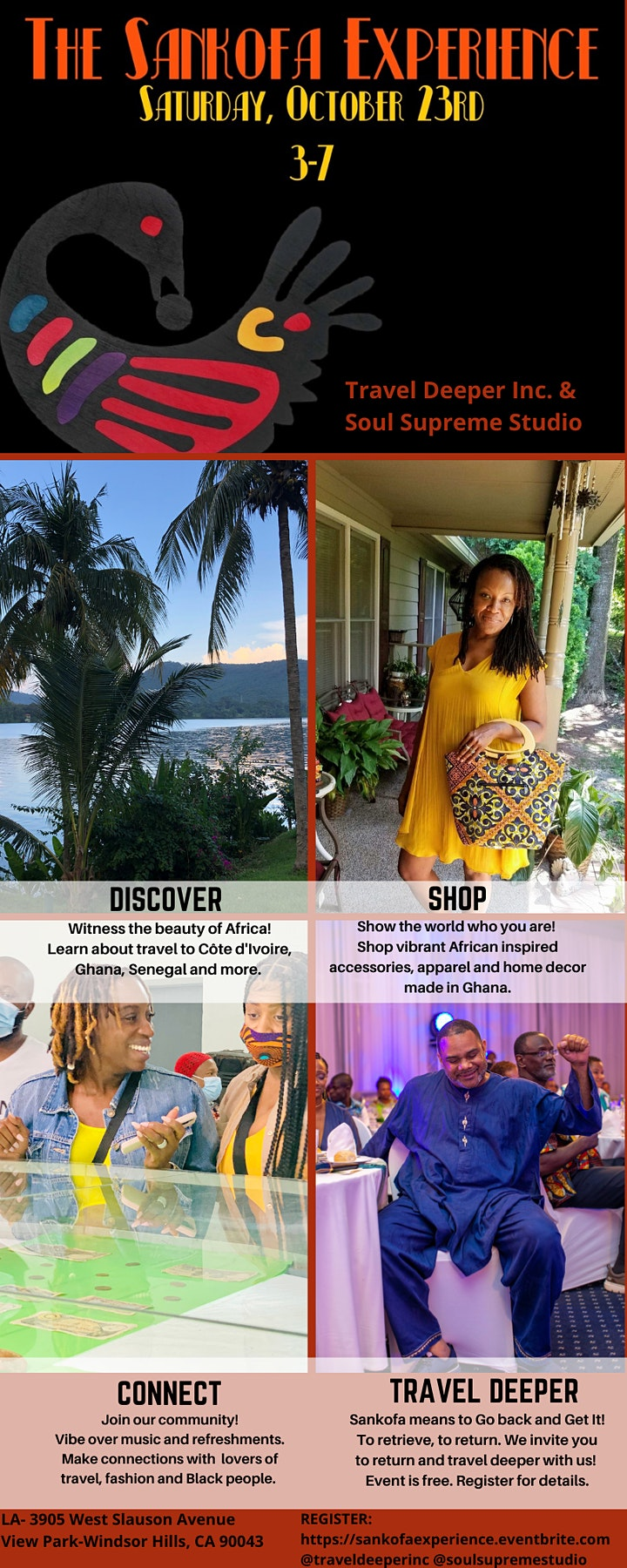 The Sankofa Experience with Travel Deeper Inc and Soul Supreme Studio image