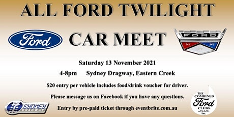 All Ford Twilight Car Meet tickets