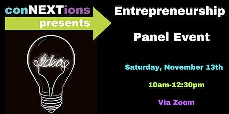 conNEXTions Entrepreneurship Panel Event tickets