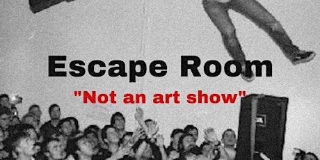 Escape Room tickets