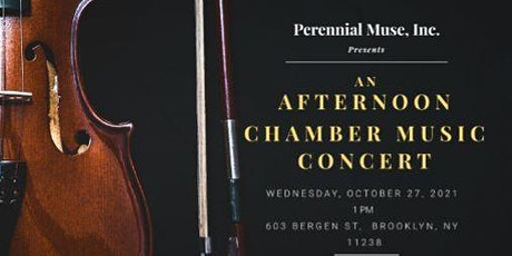 Afternoon Chamber Music Concert tickets