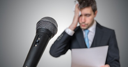 Conquer Your Fear of Public Speaking -Dublin- Virtual Free Trial Class tickets